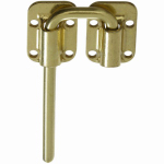 National Mfg/Spectrum Brands Hhi N238-980 Brass Sliding Door Latch, 1.5-In.