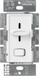 Lutron Electronics S-600PH-WH Skylark 600-Watt Single-Pole Preset Dimmer, White