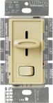 Lutron Electronics S-600PH-IV Skylark 600-Watt Single-Pole Preset Dimmer, Ivory