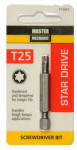 Disston 773473 Master Mechanic Torx 25 2-Inch Screwdriver Bit