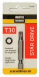 Disston 773499 Master Mechanic Torx 30 2-Inch Screwdriver Bit