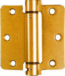 National Mfg/Spectrum Brands Hhi N185-199 Door Hinge, Adjustable Spring, Brass, 3.5-In.