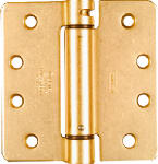 National Mfg/Spectrum Brands Hhi N185-207 Adjustable Spring Hinge, Brass, 4 x 4-In.