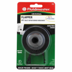 Fluidmaster 500P21 Bulls Eye Toilet Flapper, Vinyl With Plastic Chain