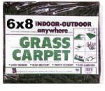 Jefferson Home Fashions GR68BG Grass Carpet, Mold & Mildew Resistant, 6 x 8-Ft.
