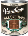 Rust-Oleum 242184 Varathane Pint Clear Satin Exterior Oil-Based Premium Spar Urethane Wood Finish