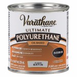 Rust-Oleum 242178H Varathane 1/2-Pint Clear Satin Interior Oil-Based Premium Polyurethane Wood Finish