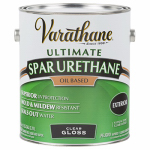 Rust-Oleum 242179 Varathane Gallon Clear Gloss Exterior Oil-Based Premium Spar Urethane Finish