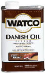 Rust-Oleum 242220 Watco Qt. Dark Walnut Danish Oil Wood Finish