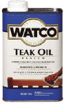 Rust-Oleum 242226H Teak Oil Wood Finish, 1-Qt.