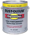 Rust-Oleum 242258 GAL Safe Yellow Finish
