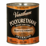 Rust-Oleum 242171H Varathane Qt. Clear Semi-Gloss Interior Oil-Based Premium Polyurethane Wood Finish