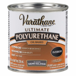 Rust-Oleum 242172H Varathane 1/2-Pint Clear Semi-Gloss Interior Oil-Based Premium Polyurethane Wood Finish