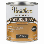 Rust-Oleum 242174H Varathane Qt. Clear Gloss Interior Oil-Based Premium Polyurethane Wood Finish