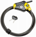 Master Lock 8413XDPF Python 6-Ft. x 10mm Adjustable Locking Cable