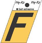 Hy-Ko Prod GR-10/F 1-1/2-Inch Black/ Gold Aluminum Adhesive Angle Cut F