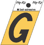 Hy-Ko Prod GR-10/G 1-1/2-Inch Black/ Gold Aluminum Adhesive Angle Cut G