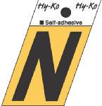 Hy-Ko Prod GR-10/N 1-1/2-Inch Black/ Gold Aluminum Adhesive Angle Cut N