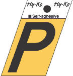 Hy-Ko Prod GR-10/P 1-1/2-Inch Black/ Gold Aluminum Adhesive Angle Cut P
