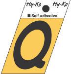 Hy-Ko Prod GR-10/Q 1-1/2-Inch Black/ Gold Aluminum Adhesive Angle Cut Q