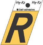 Hy-Ko Prod GR-10/R 1-1/2-Inch Black/ Gold Aluminum Adhesive Angle Cut R