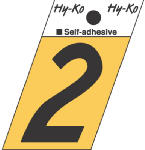 Hy-Ko Prod GR-10/2 1-1/2-Inch Black/ Gold Aluminum Adhesive Angle Cut 2