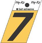 Hy-Ko Prod GR-10/7 1-1/2-Inch Black/ Gold Aluminum Adhesive Angle Cut 7