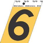 Hy-Ko Prod GG-25/6 3-1/2-Inch Black/ Gold Aluminum Adhesive Angle Cut 6