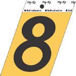 Hy-Ko Prod GG-25/8 3-1/2-Inch Black/ Gold Aluminum Adhesive Angle Cut 8