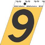 Hy-Ko Prod GG-25/9 3-1/2-Inch Black/ Gold Aluminum Adhesive Angle Cut 9