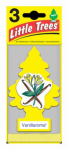 "Car Freshner U3S-32005 3-Pak Vanillaroma ""Little Tree"" Air Fresheners"