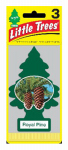 "Car Freshner U3S-32001 3-Pak Royal Pine ""Little Tree"" Air Fresheners"