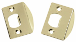 Belwith Products 1065 2-Pack Brass Full Lip Strike