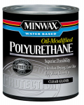 Minwax The 230154444 1/2-Pint Gloss VOC Water-Based Polyurethane
