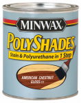 Minwax The 61475 1-Qt. American Chestnut Gloss Polyshades Wood Stain