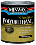 Minwax The 63025 1-Quart Satin VOC Water-Based Polyurethane