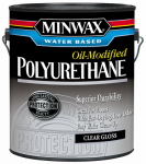 Minwax The 71031 1-Gallon Gloss VOC Water-Based Polyurethane
