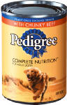 Mars Petcare Us 01017 Canned Dog Food, Chunky Beef, Bacon & Cheese, 13.2-oz., Must Be Purchased in Quantities of 24