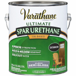 Rust-Oleum 9432 Varathane Exterior Oil-Based Premium Spar Urethane, Gallon Semi-Gloss