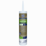 Momentive Perform Material GE50G01 Silicone II Gutter Caulk, Clear, 10.1-oz.