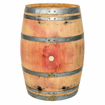 Real Wood Products B120 Whole Oak Wine Barrel