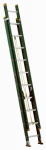 Louisville Ladder FE0620 20-Ft. Extension Ladder, Fiberglass, Type II, 225-Lb. Duty Rating