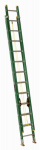 Louisville Ladder FE0624 24-Ft. Extension Ladder, Fiberglass, Type II, 225-Lb. Duty Rating