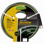 Teknor-Apex 784678 NeverKink Garden Hose, Heavy-Duty, 5/8-In. x 75-Ft.