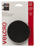 Velcro Usa Consumer Pdts 90086 Sticky Back Fastening Tape, Black, 5-Ft. x 3/4-In.