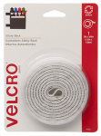 Velcro Usa Consumer Pdts 90087 Sticky Back Fastening Tape, Whtie, 5-Ft. x 3/4-In.