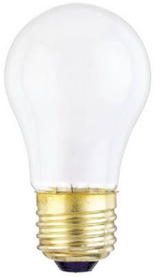 25 watt 120 volt A15 Medium E26 Standard Base Frosted Incand