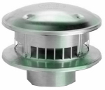 "Selkirk 103800 Type ""B"" Gas Vent 3-Inch Round Top"