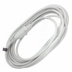 Ho Wah Gentin Kintron Sdnbhd 02352ME01 Outdoor Extension Cord, 16/3, SJTW, White, 20-Ft.