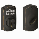 Schlage Lock BE365VCAM716 Aged Bronze Keypad Deadbolt